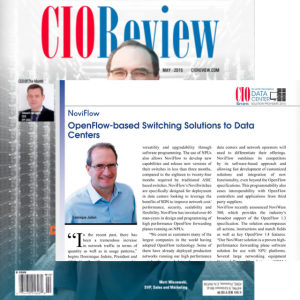 NoviFlow chosen one of 20 most promising Data Centre solutions of 2015 by CIO Magazine!