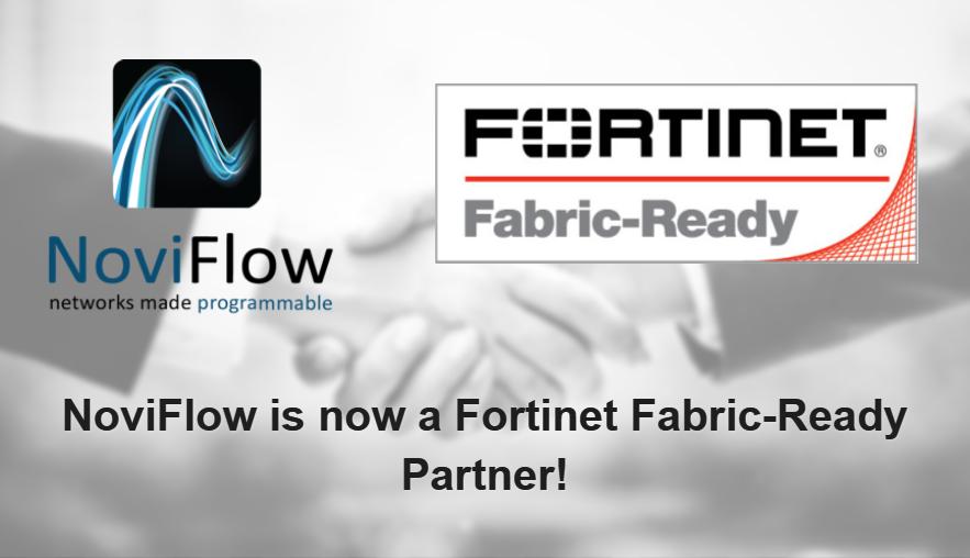 NoviFlow is now a Fortinet Fabric-Ready Partner! | NoviFlow