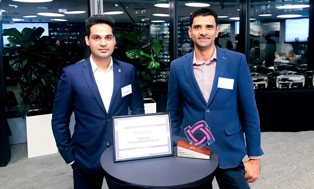 Canopus Networks won the Consensus Innovation Award 2019