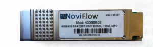 Optical transciever for sdn switch NoviSwitch