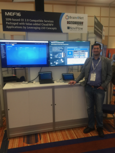 NoviFlow and Brain4Net Demonstrate Comprehensive SDN/NFV Solution for Metro Networks at MEF16 PoC showcase