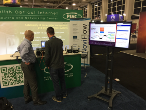PSNC hosts NoviFlow SDN-based IoT demo at SC16 in Salt Lake City