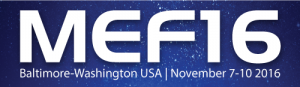 NoviFlow demos live SDN based NFV Optimization at MEF16 in Baltimore, November 7th to 10th, 2016