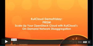 KulCloud demos  scale-up OpenStack cloud infrastructure with NoviFlow's NoviSwitch