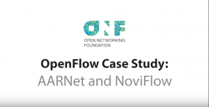 NoviFlow featured with AARNet in ONF video of SDN Deployments