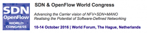 Come see NoviFlow at the Layer123 SDN World Congress 2016 in the Hague, Netherlands, October 10th to 14th