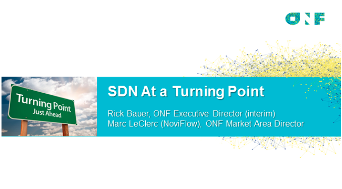 ONF video: SDN at the crossroads,
