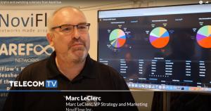 TelecomTV tech News Marc LeClerc NoviFlow