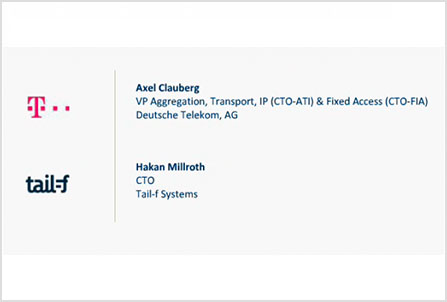 Webcast with Deutsche Telekom's Axel Clauberg,